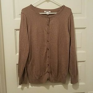 Old Navy Sweaters - Heather Brown/ Tan /Taupe cardigan